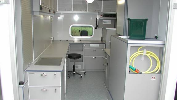 Mobile Veterinary Hospital Vehicle Equipment For The